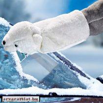 Jégkaparó kesztyű medve