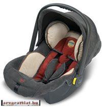 kiddy-maxi pro biztonsági hordozó szürke-bordó használt