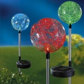 Napelemes színváltós gömb új
