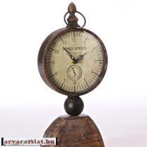 antikolt fa kandalló óra