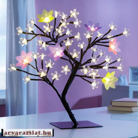 4 évszakos világító álom fa