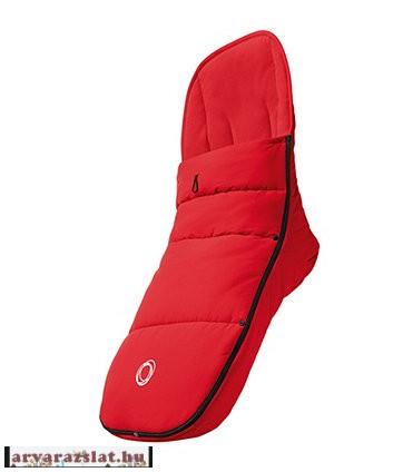 Bugaboo Performance Bundazsák vékonyabb  felsőrésszel  új piros