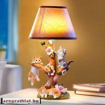 cicás dekor led lámpa új