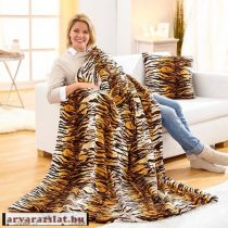 Maxi ágytakaró, pléd tigris