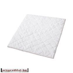 Körben ráhúzható steppelt gumis lepedő matracvédő könnyű puha légátersztő vastag