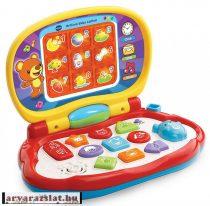 v-tech bébi laptop baby játék készségfejlesztő német nyelvű