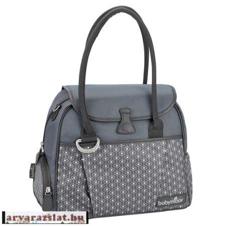 Babymoov Style Bag Pelenkázótáska szürke új kiegészítőkkel 2 hibás Féláron