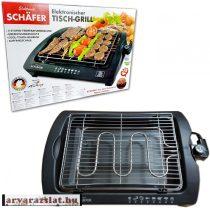 Schäfer BBQ elektromos asztali grill új
