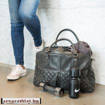 Little Company Pelenkázó táska Berlin Quilted sötétszürke új