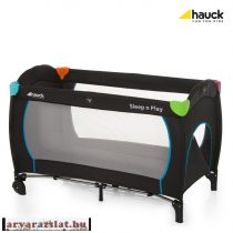 HAUCK Sleep'n Play Go Plus 120x60 Multicolor Black utazóágy h